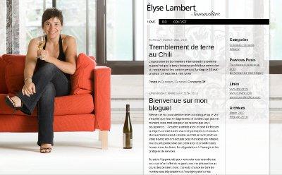 Elyse Lambert - Sommeliere